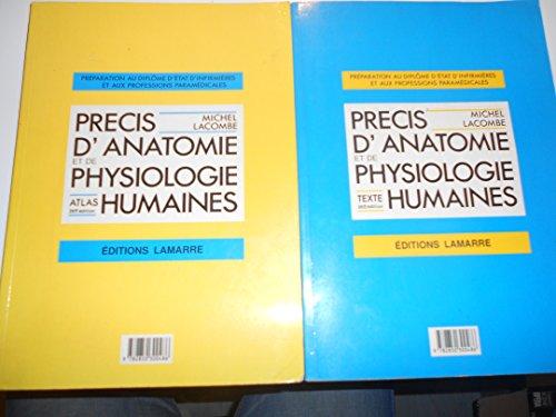 9782850300486: Précis d'anatomie et de physiologie humaines Atlas et texte 2 volumes