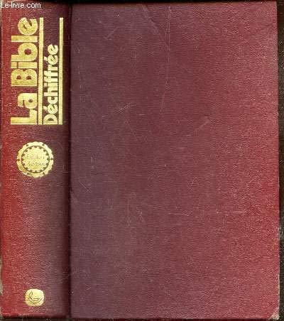 9782850310188: la bible dechiffree