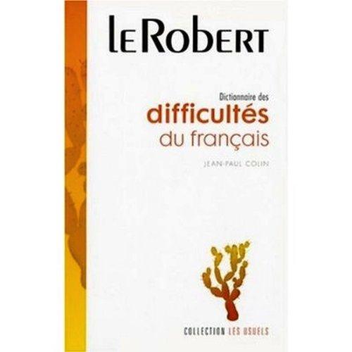 9782850360091: Dictionnaire Des Difficultes Du Francais