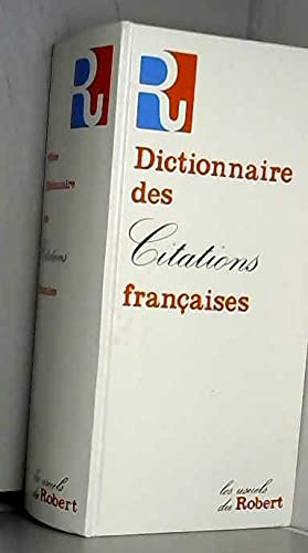 DICTIONNAIRE DES CITATIONS FRANCAISES: OSTER PIERRE