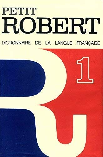9782850360664: Petit Robert 1 (English and Italian Edition)