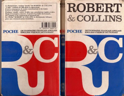 9782850360916: Collins-Robert Pocket French Dictionary: French-English, English-French