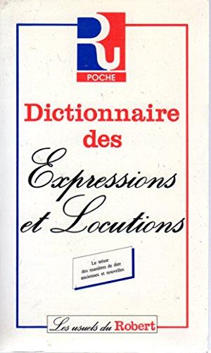 9782850361036: Dictionnaire des expressions et locutions