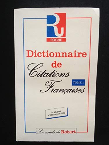 9782850361050: Dictionnaire de citations francaises.