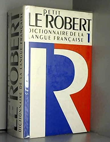 9782850361869: Le Petit Robert 1 Dictionnaire De La Langue Francaise Alphabetique et Analogie (French Edition)