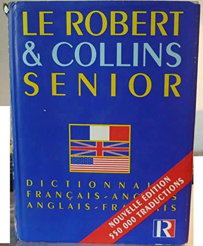 9782850362279: Le Robert & [et] Collins senior : Dictionnaire fran�ais-anglais, anglais-fran�ais