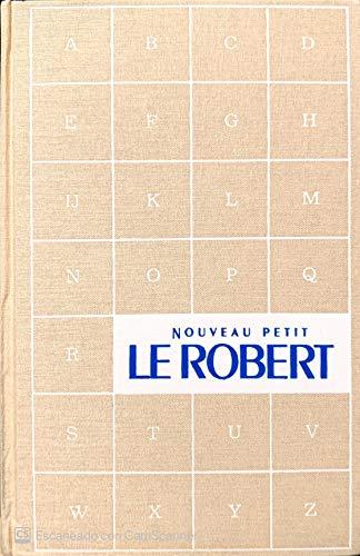 9782850362903: nouveau petit Robert: dictionnaire alphabétique et analogique de la langue française