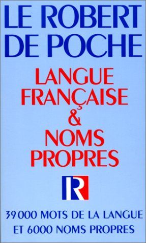 9782850363733: Robert French Dictionary (Robert de Poche Dictionnaire de Langue Française) (French Edition)