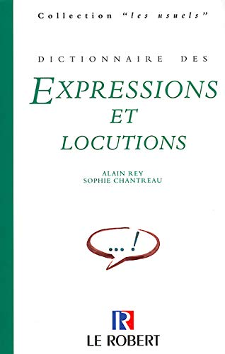 9782850364600: Dictionnaire DES Expressions (French Edition)