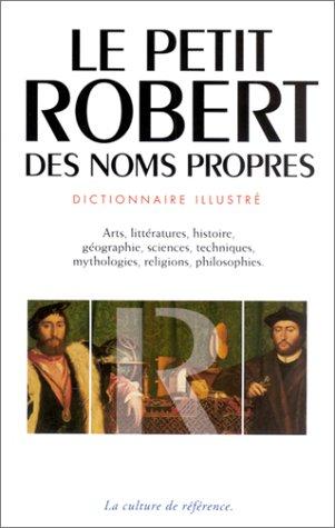 9782850365317: Le Petit Robert des noms propres