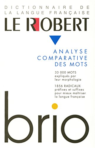 9782850366116: Le Robert Brio : Analyse comparative des mots