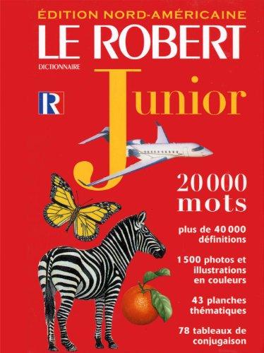 Le Robert Dictionnaire Junior (French Dictionary): Besse, Bruno de,