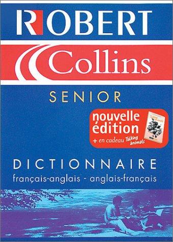 9782850368707: Robert & Collins Senior, édition bilingue (français/anglais - anglais/français)
