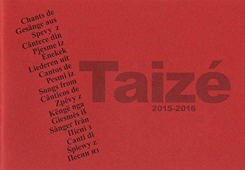 9782850403903: Chants de taize 2015-2016