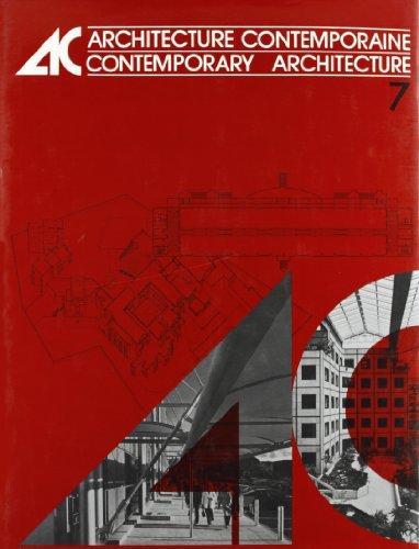 9782850470707: Architecture contemporaine, tome 7: 1985-1986 / Contemporary Architecture, Vol. 7: 1985-1986
