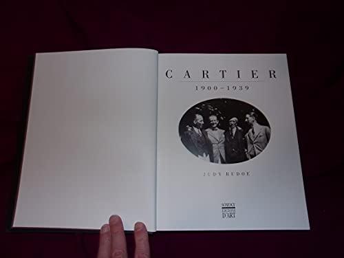 9782850562730: Cartier - 1900 - 1939