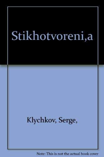 Stikhotvoreniia (Izbrannaia poeziia) (Russian Edition): Klychkov, Sergei