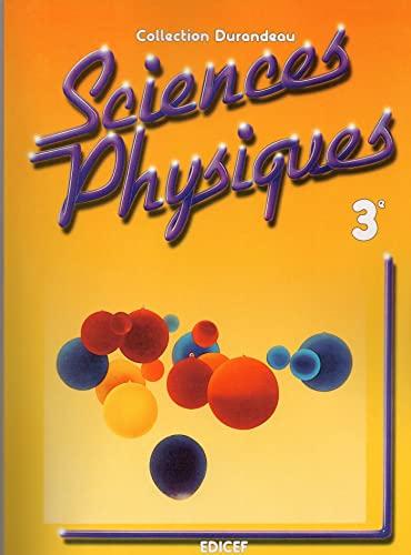9782850698378: sciences physiques 3eme