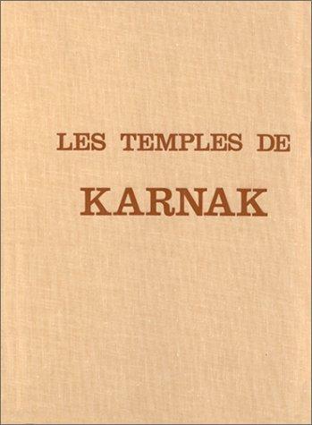 """9782850761539: Les temples de Karnak: Contribution à l'étude de la pensée pharaonique (Collection """"Architecture et symboles sacrés"""") (French Edition)"""