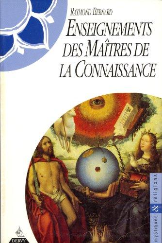 9782850767005: Enseignements des maîtres de la connaissance