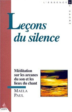 9782850767531: Leçons de silence