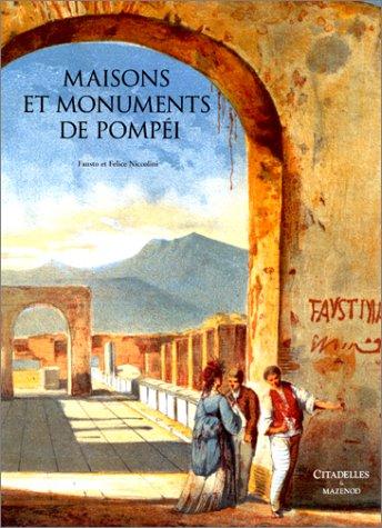 9782850881381: Maisons et monuments de Pomp�i