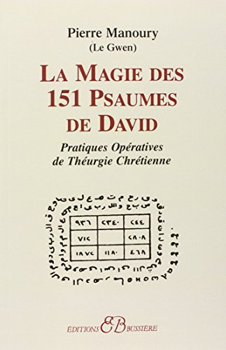 9782850901591: La Magie des 151 psaumes de david (French Edition)