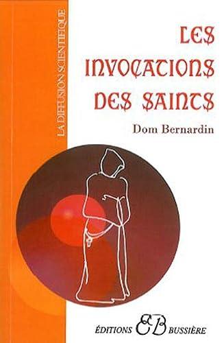 9782850903564: Les invocations des saints (French Edition)