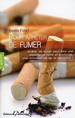 POUR ARRETER DE FUMER: FINEL KEVIN