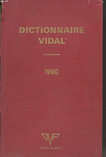 9782850910661: Dictionnaire Vidal : 1990