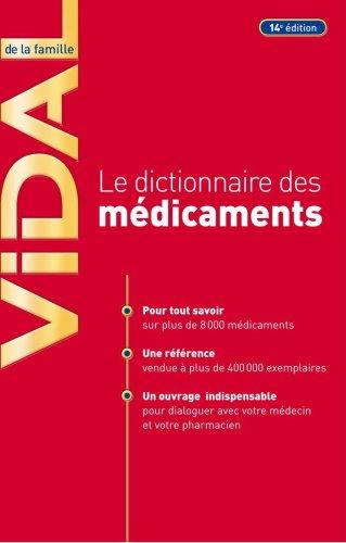 9782850911811: Vidal de la Famille : Le dictionnaire des médicaments