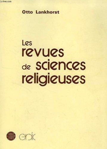 9782850970139: Les revues de sciences religieuses: Approche bibliographique internationale (Recherches institutionnelles) (French Edition)