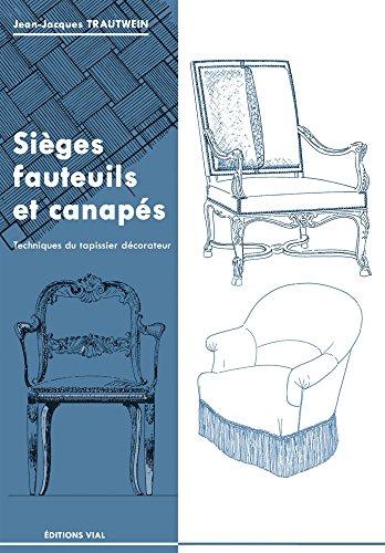 9782851011541: Sièges, fauteuils et canapés