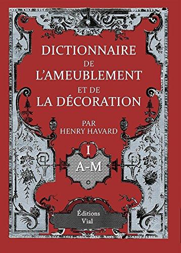 9782851011596: Dictionnaire de l'ameublement et de la décoration 4 volumes