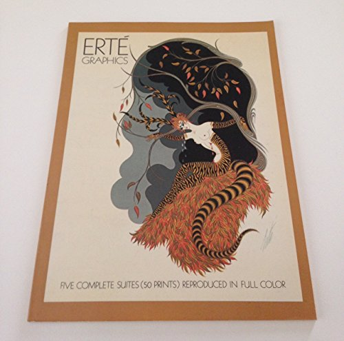 9782851081551: Erte Graphics:Five Complete Suites Reproduced in Full Color: The Seasons, The Alphabet, The Numerals, The Aces, The Precious Stones