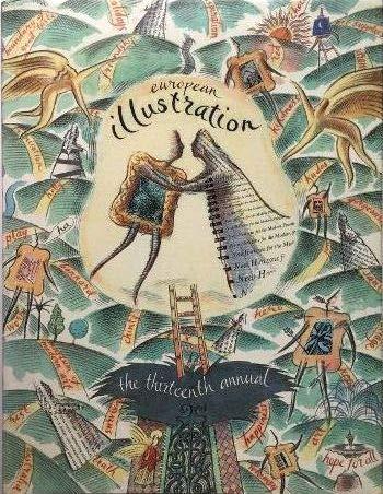 9782851084521: European Illustration. The Thirteenth Annual of European Editorial Book