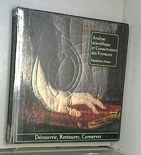 9782851090058: Analyse scientifique et conservation des peintures