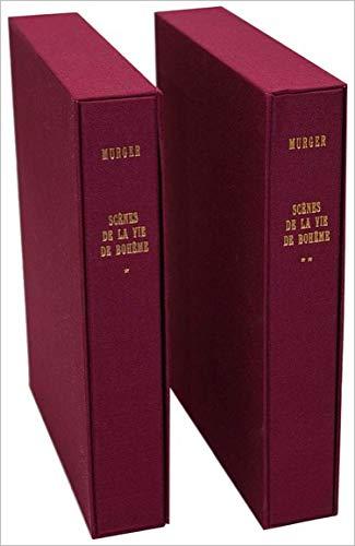 9782851110145: Scènes de la vie de Bohème (2 volumes)