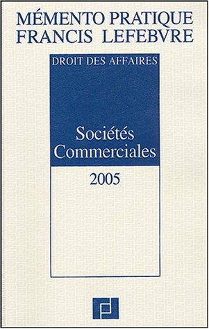 9782851155917: Sociétés commerciales