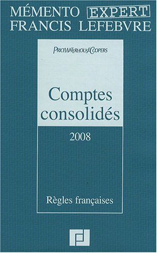Comptes consolidés: PriceWaterhouseCoopers, Claude Lopater,
