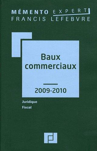 9782851157928: Baux commerciaux 2009-2010