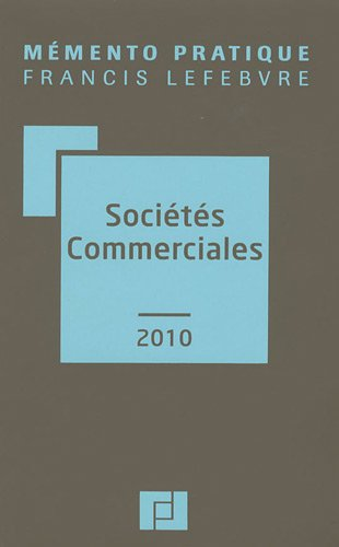 9782851158178: Soci�t�s commerciales