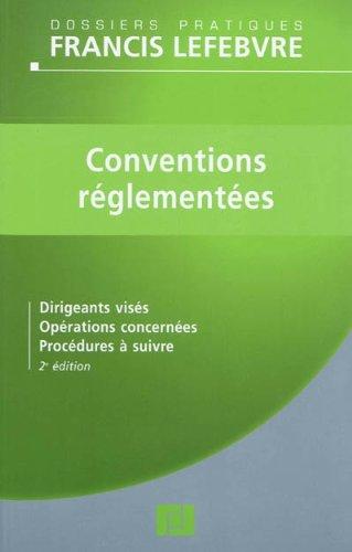 9782851158468: CONVENTIONS REGLEMENTEES