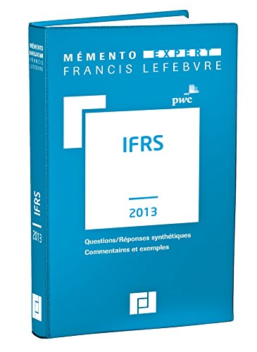IFRS: PWC, Lopater, Claude