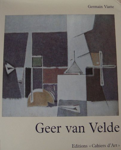 9782851171047: Geer van Velde (French Edition)