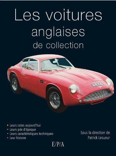 9782851201003: Voitures anglaises de collection