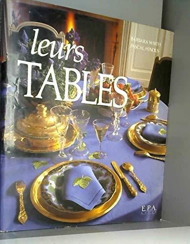 9782851202659: Leurs tables (Epa Art Vivre)