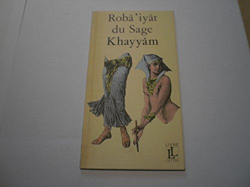 Robâ'iyât: Hayyam, Omar: