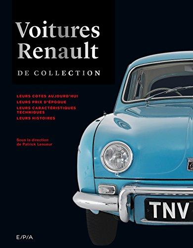 9782851208965: Voitures Renault de collection