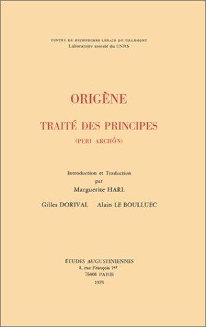 9782851210128: Traité des principes: (Peri archôn)